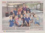 SportyFun in de krant