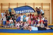 Zestig sportieve kinderen op sportkamp!